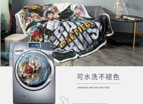 One Piece Anime Manga Kuscheldecke Sofadecke Wohndecke Decke blanket 150x100cm