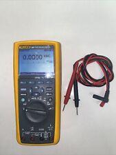 Fluke 287 True Rms Electronics Logging Multimeter With Leads