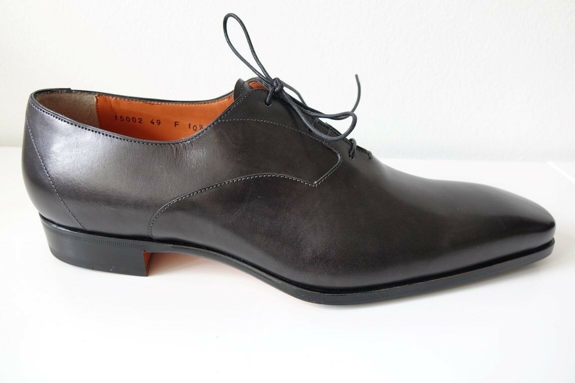 Santoni Chaussures Chaussures Hommes Business - Chaussures TAILLE 10,5 (44,5) - Business NEUF/ORIGINAL 87e8a6