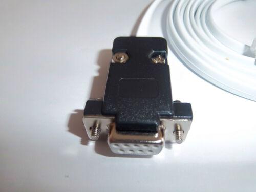 RS232 Unitronics DSUB 9 To RJ12 PLC programe//Câble de données