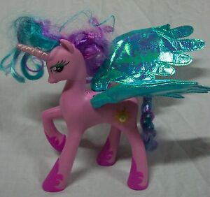 My Little Pony Friendship Is Magic Pink Talking Princess Celestia 8 Plastic Toy Ebay