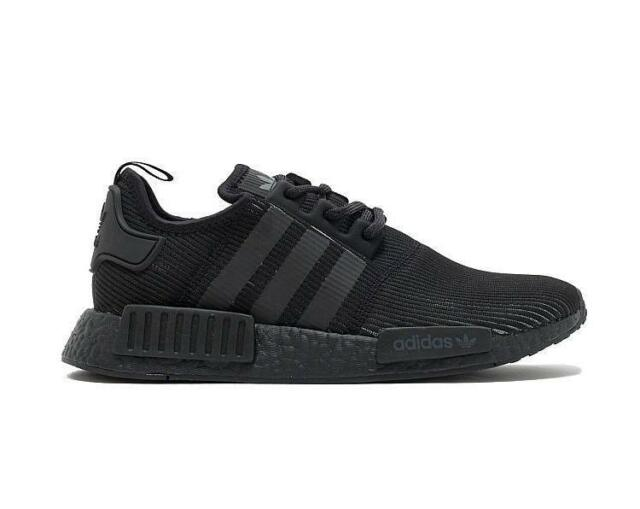 low priced 1c77f dd4ab ... norway mens adidas r1 triple black black by3123 59492 f792e sweden adidas  nmd r1 black reflective ...