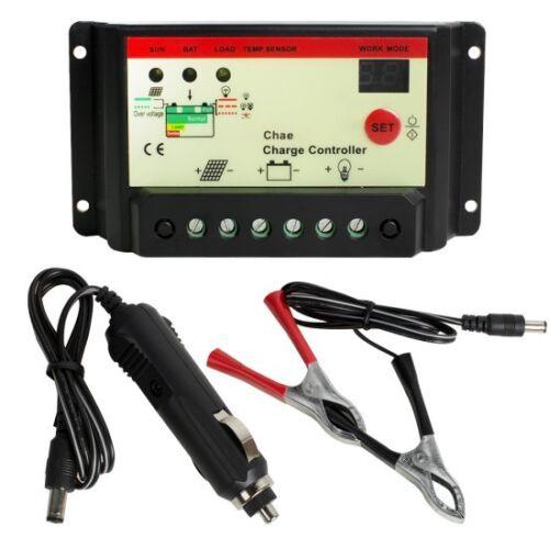 Contrôleur conformité Européene 20 W Watt Semi Flexible Panneau Solaire Chargeur de batterie contrôleur Kit