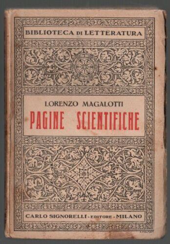 PAGINE SCIENTIFICHE