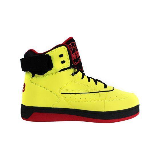 Ewing Athletics Hommes Ewing Orion blazingjaune Rouge Noir Chaussures Ewing 159