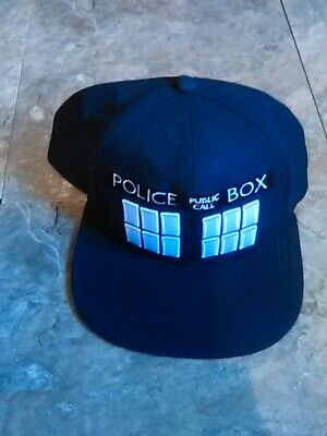Doctor Who Baseball Cap Police Public Call Box Hip-Hop Hat Leisure Unisex Gift