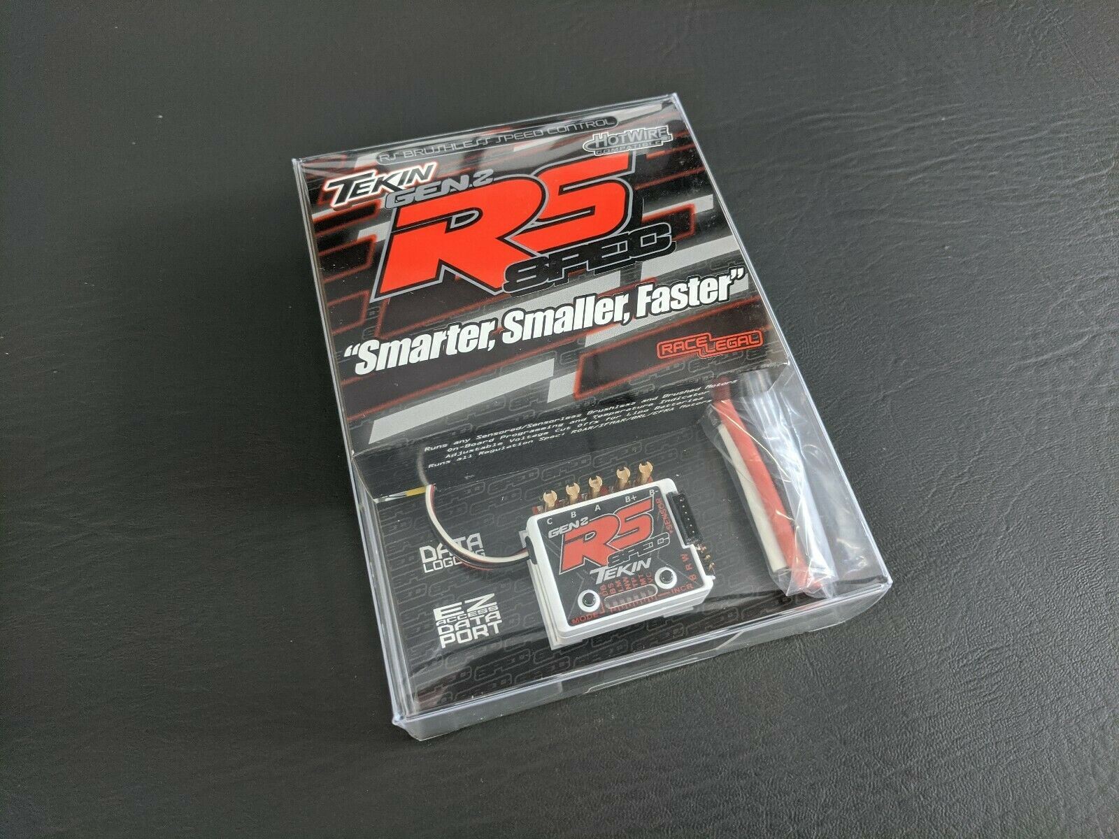 Tekin RS Pro 1S Black Ed Brushless Sensored//Sensorless ESC TT1161