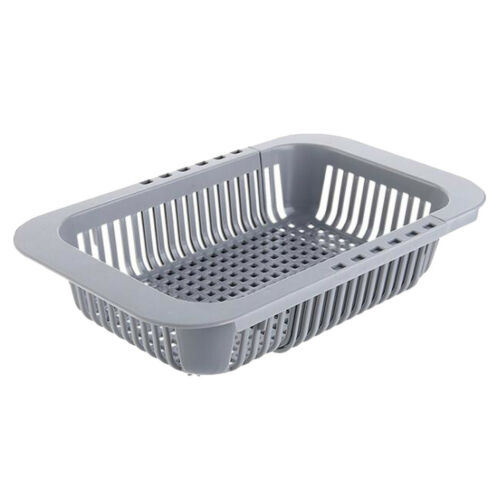 Dish Drying Rack Drying Storage Holder Sink Dish Drainer Drying Basket gray