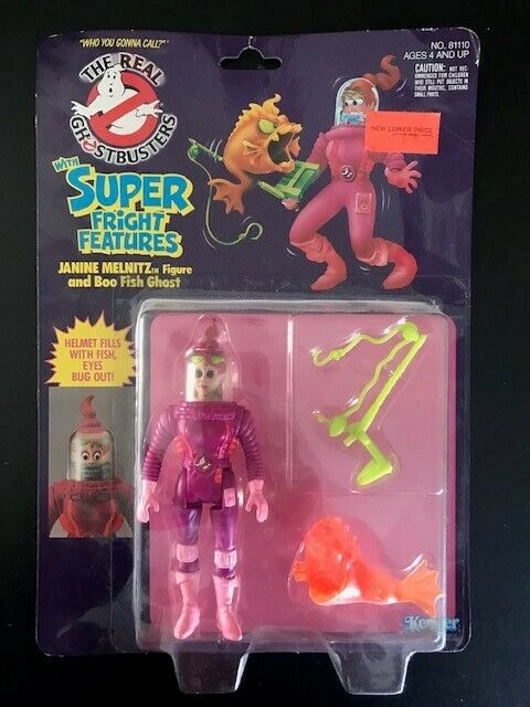 Kenner The Real Ghotzstbusters Super Fright Features Janine Melnitz