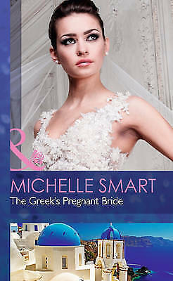 1 of 1 - The Greek's Pregnant Bride (Society Weddings)-ExLibrary