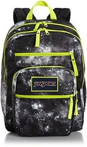 quality design huge discount rich and magnificent Details about NWT Jansport Big Student Backpack Book Bag Overexposed Black  Galaxy T75K02D