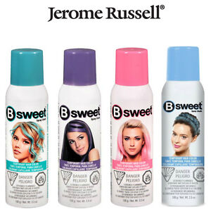 Jerome Russell - B SWEET - Temporary Hair Color Spray - CHOOSE A ...
