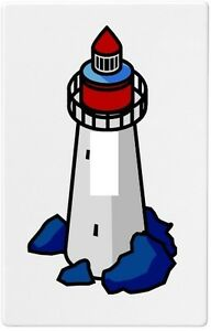 Lighthouse wallplate wall plate decorative light switch for Lighthouse switch plates