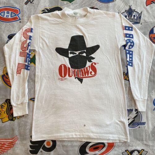 Vintage USFL Chicago Blitz Ringer T Shirt By Majestic