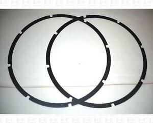 Pair-15-Inch-Thin-Speaker-Gaskets-For-Eight-Screw-Speaker
