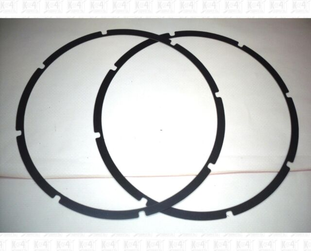 Pair 15 Inch Thin Speaker Gaskets For Eight Screw Speaker