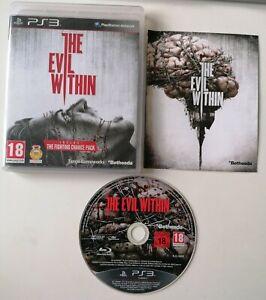 Jeu PS3 The Evil Within Complet FR Excellent État