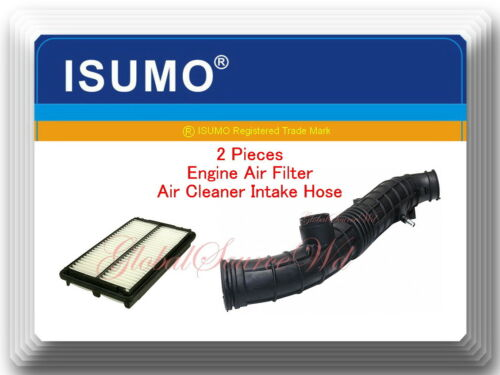 Honda Accord 2001-2002 AT /& MT L4-2.3L 2 Pcs  Air Intake Hose /& Air Filter Fits