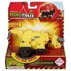 Mattel Djy61 Dinotrux mit Rückzugsmotor Dozer BULLZ