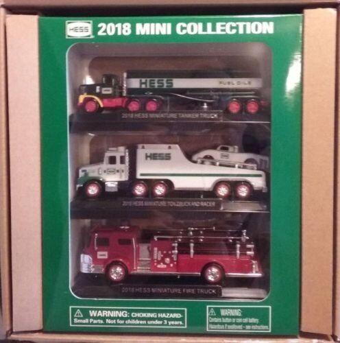2018 Hess Mini Truck Collection-Brand New in Box-HESS MINI TRUCKS 2018 FAST SHIP