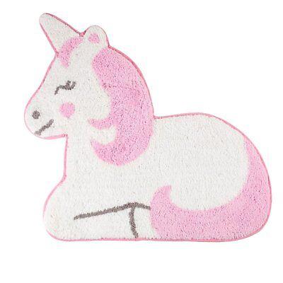 Betty Pink Unicorn Nursery Rug Mat Bedroom Playroom Carpet Sass & Belle