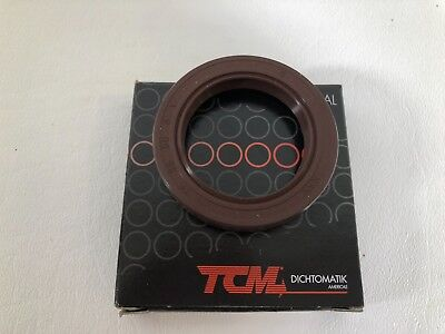 "AVX Shaft Oil Seal TC 1/""x 1.75/""x 0.375/"" Rubber Lip 1/""//1.75/""//0.375/"""