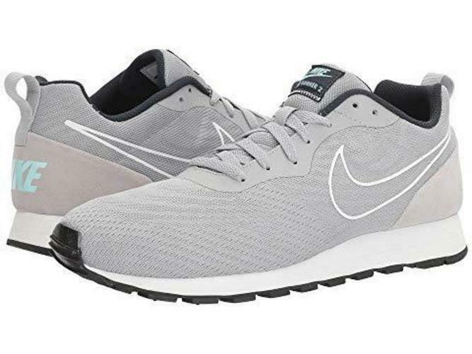 Nike Men's MD Runner 2 BR   Wolf Grey Wolf Grey Armory Navy   11.5 M US