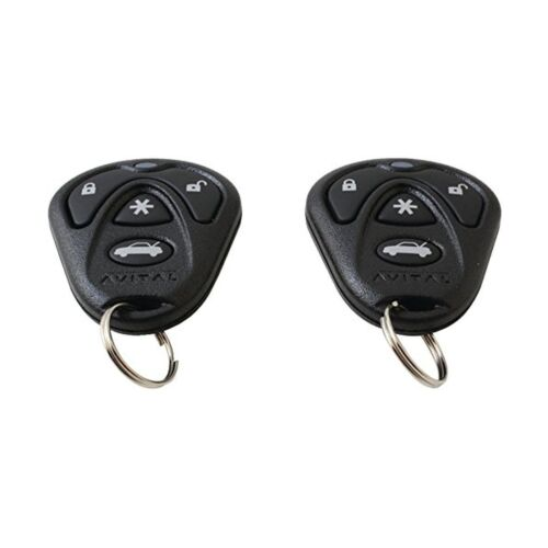 3-Channel Keyless Entry Car Alarm with Remotes and Failsafe Starter Kill-Set