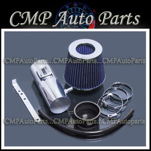 Outlook 3.6L V6 All Short Ram Air Intake Kit BLUE Filter for 07-11 Enclave