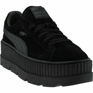 a31789b221f Puma Fenty by Rihanna Suede Cleated Creeper Sneakers - Black - Mens ...