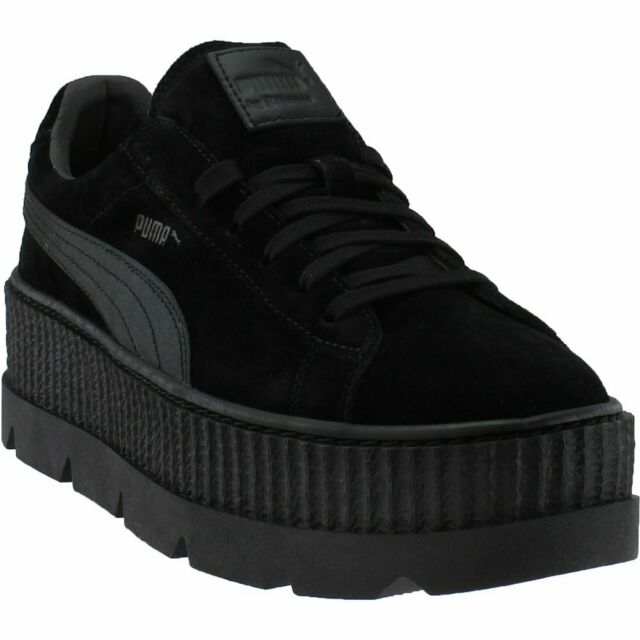 c3f4cd86732 PUMA Mens Fenty by Rihanna Black Cleated Creeper 36626704 SNEAKERS ...