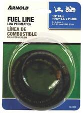 """NEW ARNOLD GL024 1/4"""" ID X 2 FOOT BLACK GAS FUEL LINE HOSE SMALL ENGINE 4153912"""