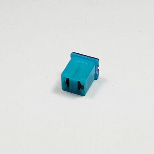 J CASO Jcase Fusible 20 A Amp 20 A Azul Bajo perfil Hembra empuje en Cartucho Fusibles