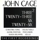 John Cage: Three2; Twenty-Three; Six; Twenty-Six by Christina Fong/Glenn Freeman/Karen Krummel (CD, Nov-2005, OgreOgress Productions)