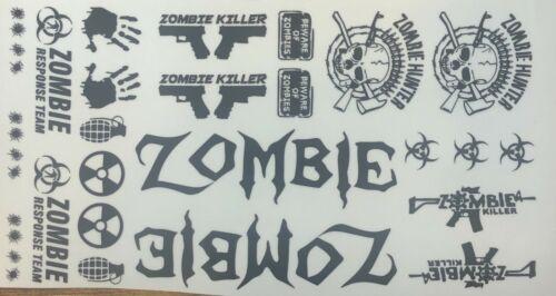 Losi Sticker Zombie Sticker Decal 1//10 Scale Traxxas Arrma Decal #9 Redcat