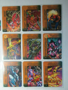 MISSION CONTOL PICK ONE 1996 MARVEL OVERPOWER ANY HERO CARDS