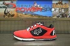 Fox Racing MOTION EVO Performance/Casual Men's Running Shoe Red/Black SZ 9.5