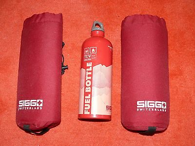 Sigg Fuel Bottle 1.0 max 890ml  with 2 cover