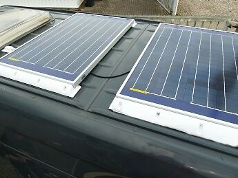12V 240W Solaranlage Solarpanel Solarmodul Solar Made in Germany wohnmobil boot