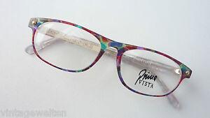 Preiswert Kaufen Bunte Damenbrille Brillenfassung Mehrfarbig Real Vintagebrillen Mittelgroß Gr.m Hell Und Durchscheinend Im Aussehen Kleidung & Accessoires