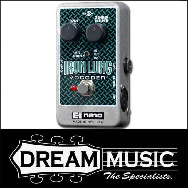 Electro Harmonix EHX Iron Lung Vocoder Guitar & Vocal Effect FX Pedal RRP$365