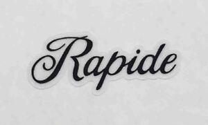 """Raleigh /""""Panasonic/"""" top tube decal."""