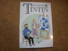 Tintin Colouring Book 2 - 1990 First Edition - unused - extremely rare
