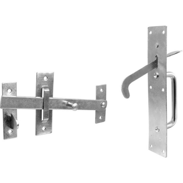 NEW Suffolk Latch Zinc Plated UK SELLER, FREEPOST
