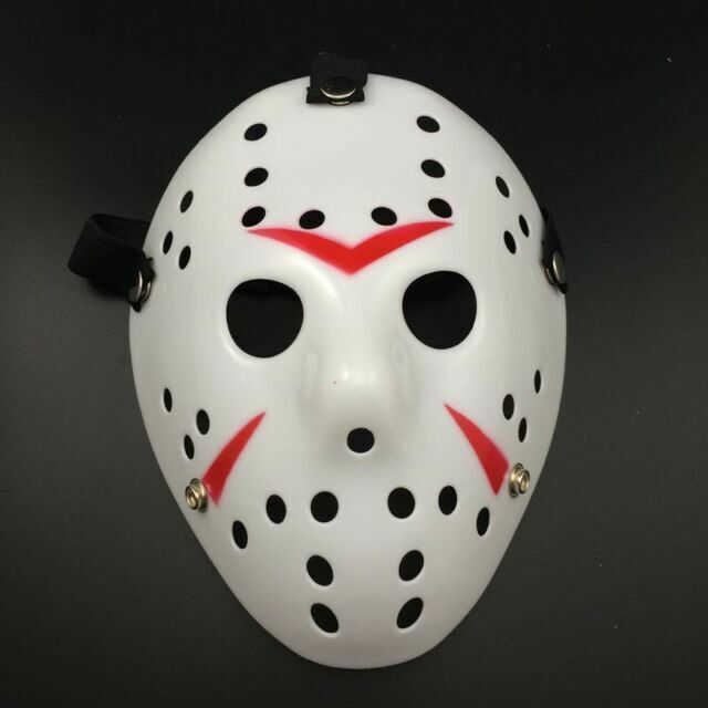 Halloween Old Jason Mask Voorhees Friday The 13th Horror Movie Hockey Mask Cos