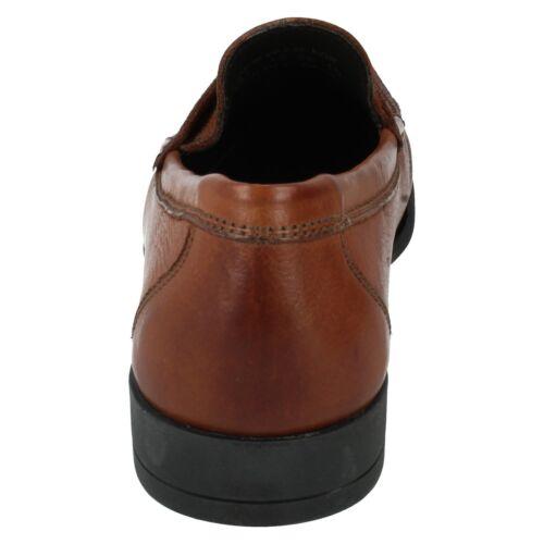 Mens Anatomic Tan Leather Loafer Moccasin slip on shoe CASTELO