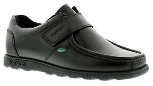 c3b7d59a Image is loading New-Mens-Gents-Black-Kickers-Fragma-Touch-Fastening-
