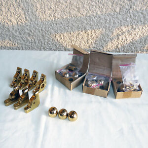 Image Is Loading SOLID BRASS CARPET STAIR ROD HOLDER BRACKETS WITH