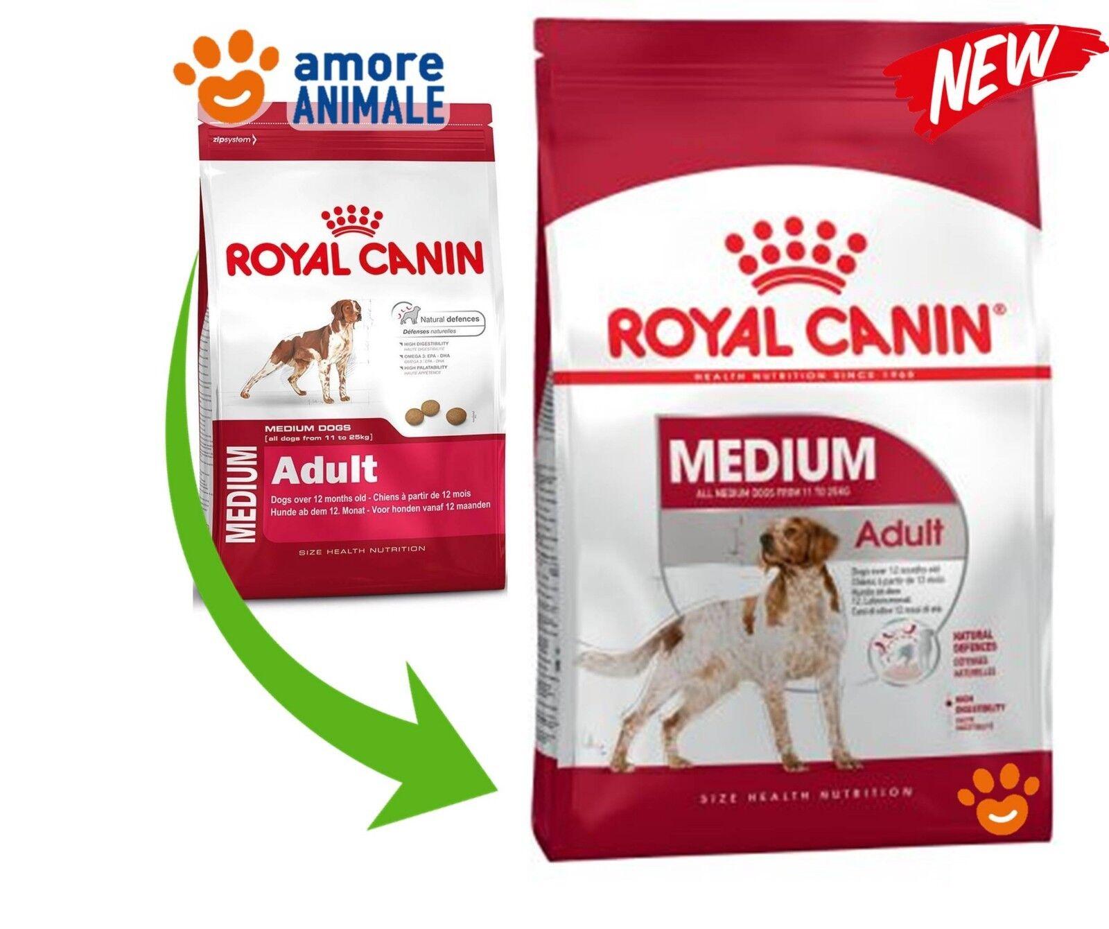 Royal Canin Medium Adult 15 kg  Crocchette per cane adulto taglia media