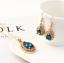Women-Heart-Pendant-Choker-Chain-Crystal-Rhinestone-Necklace-Earring-Jewelry-Set thumbnail 2